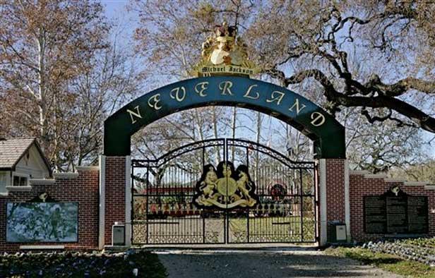 Neverland, antiguo hogar de Michael Jackson, a la venta