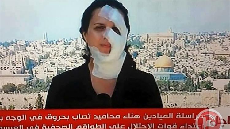 Video: el Ejército de Israel ataca a una periodista libanesa
