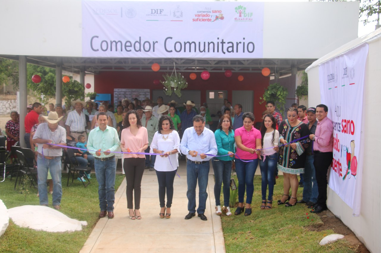 Inaugura Dif Estatal Comedor Comunitario En Paticajo