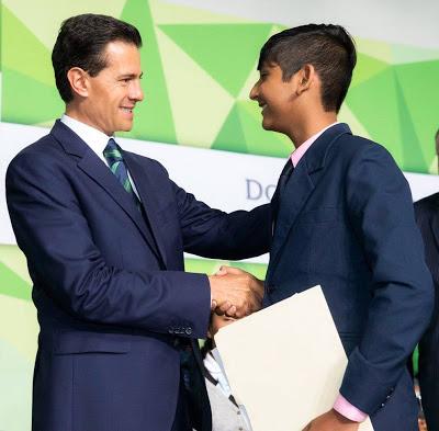 Felicita Gobernador al Primer Lugar Nacional de la Olimpiada del Conocimiento Infantil