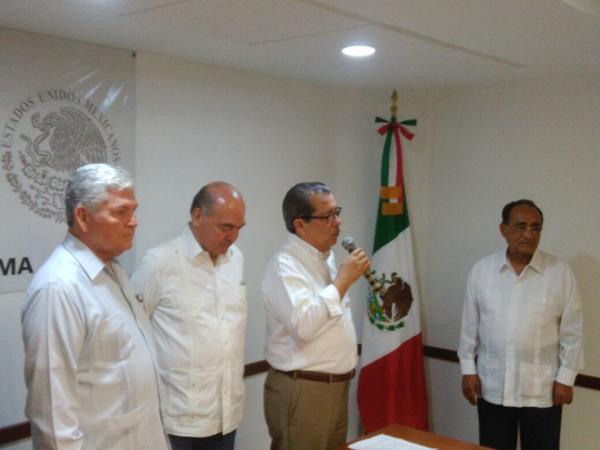 Toma protesta nuevo delegado de Segob en Colima