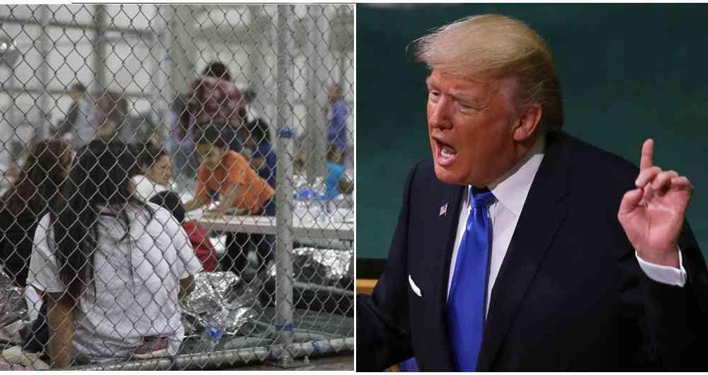 Trump resucita los campos de concentración para separar a niños inmigrantes de sus padres