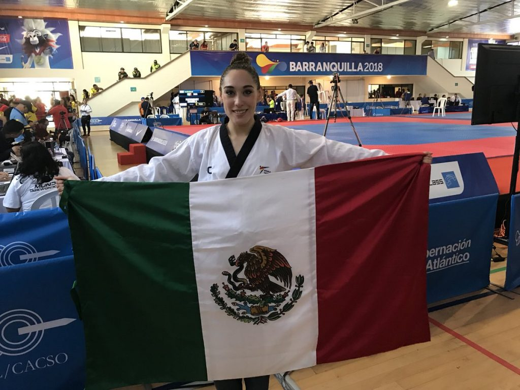 Daniela-Rodríguez-gana-medalla-de-oro-en-taekwondo-en-JCC-1024x768