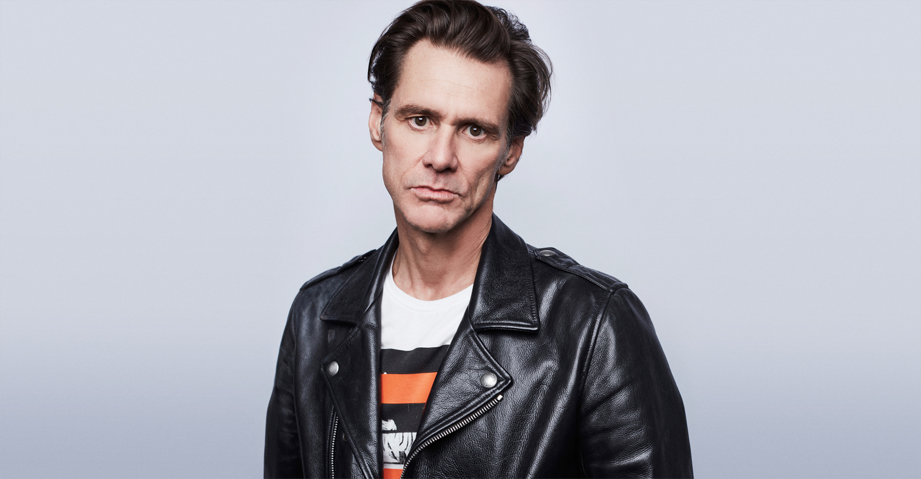 "TORONTO, ON - SEPTEMBER 11:  Jim Carrey from the film ""Jim & Andy: the Great Beyond - the story of Jim Carrey & Andy Kaufman with a very special, contractually obligated mention of Tony Clifton"" poses for a portrait during the 2017 Toronto International Film Festival at Intercontinental Hotel on September 11, 2017 in Toronto, Canada.  (Photo by Maarten de Boer/Contour by Getty Images)"