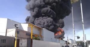 incendio-fábrica-morelia